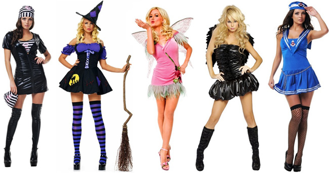 Карнавальные костюмы, в том числе на Хэллоуин и Новый год.